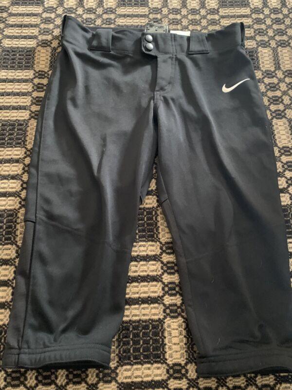 Girls Nike softball pants black size M medium