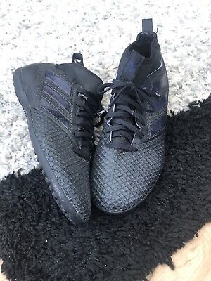 Men's adidas Ace Tango 17.3 Astro Turf Football Trainers - Black Size 8