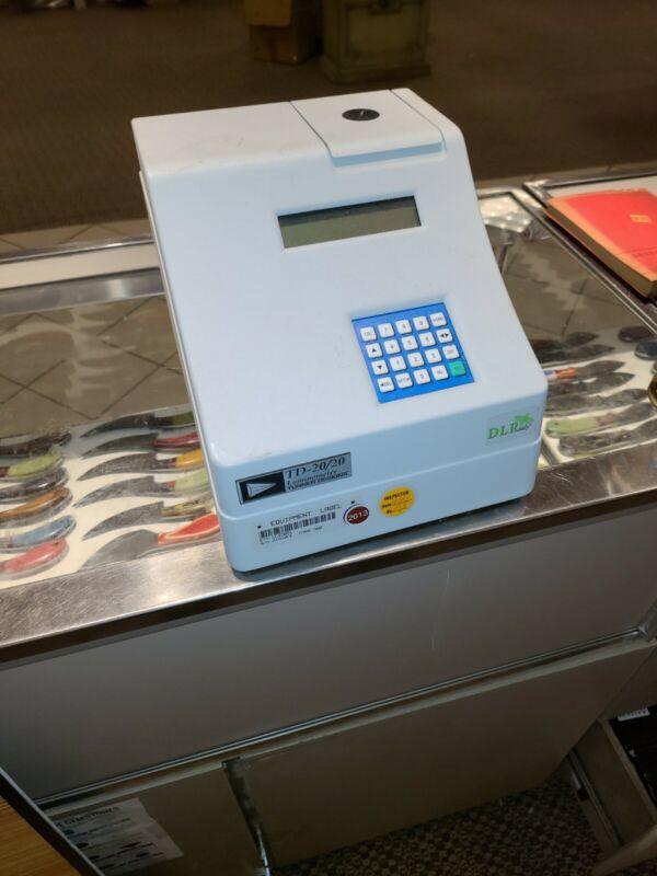 Turner Designs Model 2020-000 TD-20/20 Luminometer