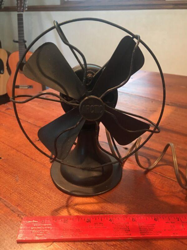 "antique arctic mini fan 8"""