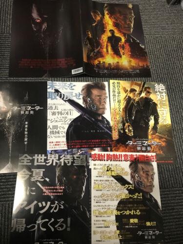 TERMINATOR 5 GENISYS Japan PROGRAM pressbook AND bonus flyer x4! Game of Thrones