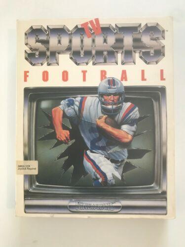 TV Sports: Football (Amiga) - Complete