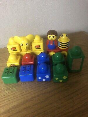 Vintage Lego Duplo Primo Stack 'n Learn Beginner Set:16 pieces/toddlers
