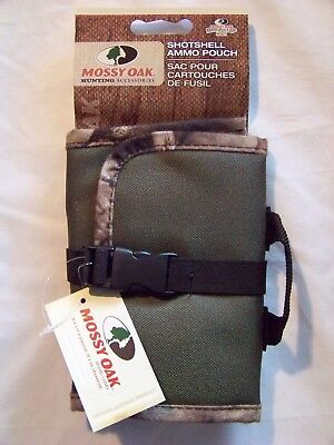 Mo Ssap Lg I Mossy Oak Break Up Shotgun Shell Ammo Pouch Green   Camo Edge  230
