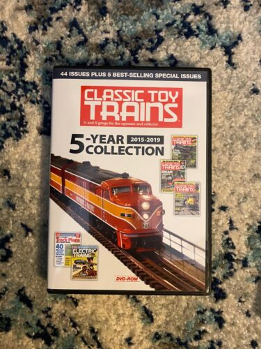 Classic Toy Trains 5-Year Collection 2015-2019 DVD-ROM