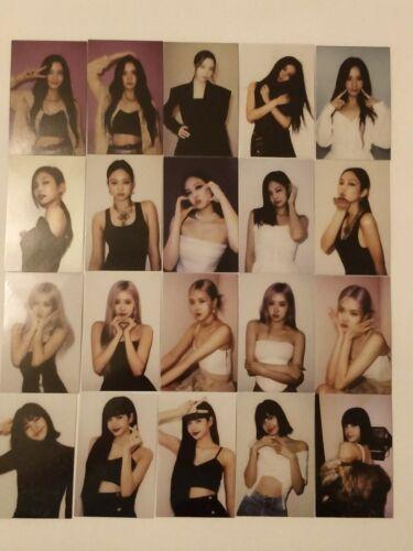 Blackpink The Album Official photocard