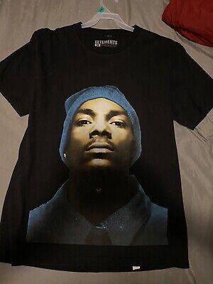 2016 16AW Vetements Snoop Dogg Back Print Oversized Rap Hip Hop Tee T Shirt M
