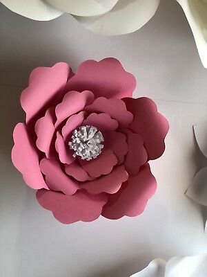 Paper Flower Template  5 Kit   Diy   Make Unlimited Flowers   Make All Sizes