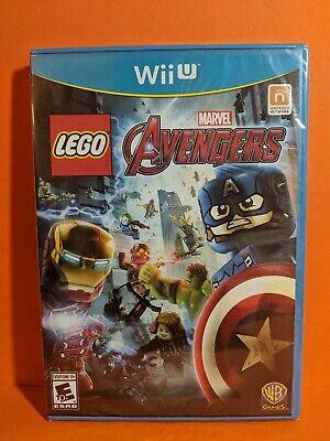 LEGO Marvel's Avengers Nintendo Wii U Brand New