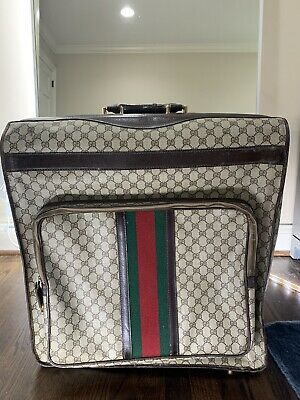 Gucci Vintage Web Supreme Garment Travel Bag