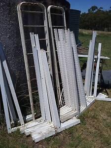 Industrial shelving system, farm sale Bundarra Uralla Area Preview