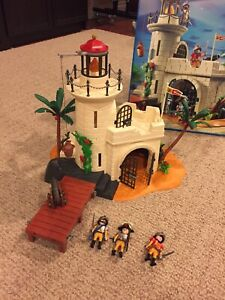 Playmobil 4294 soldier fortress with lighthouse