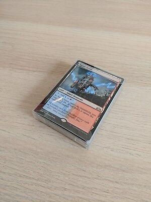 TCG Booster Draft Deck Protector Plastic Box MTG Modern Horizons Ravnica 40 card ()