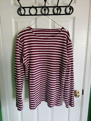 Armor Lux Red Breton Shirt Size Medium (tags removed)