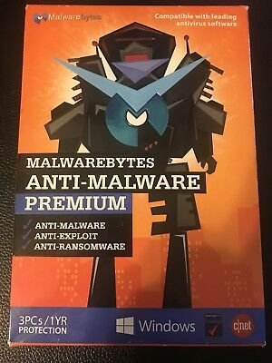 Malwarebytes Anti Malware Premium 3 Pcs