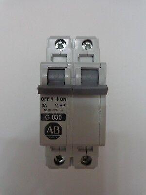 Allen Bradley 1492-CB Manual Motor Controller G030 3Amp 1/2HP 480y/277v 1PH comprar usado  Enviando para Brazil
