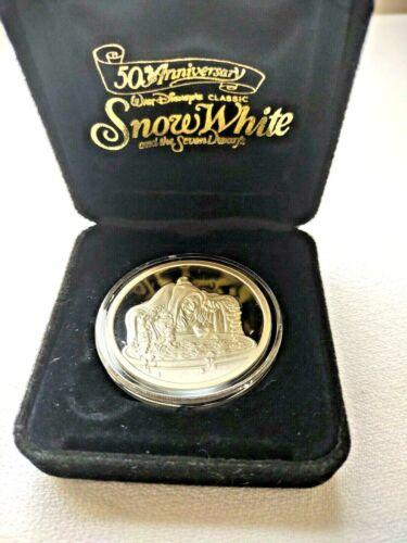 1987 Walt Disney Snow White 50th Anv. The Witch .999 Silver