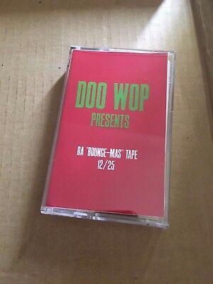 DJ DOO WOP 12/25 The Xmas Tape RARE 90s BRONX NYC Hip Hop Cassette Mixtape ()