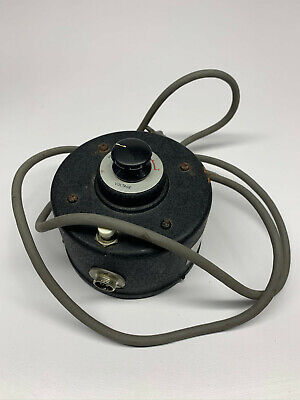 Cord Needs Replacement - Nikon Microscope 6 Volt Variable Power Transformer A40
