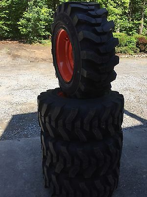 4-12-16.5 Hd Skid Steer Tireswheelsrims For Bobcat -12x16.5 - Camso Sks 732