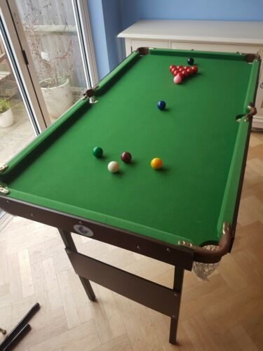 Snooker and Pool Table 4ft 6
