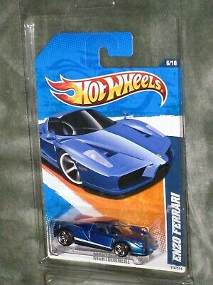 2011 Hot Wheels Enzo Ferrari with clam shell protective packaging