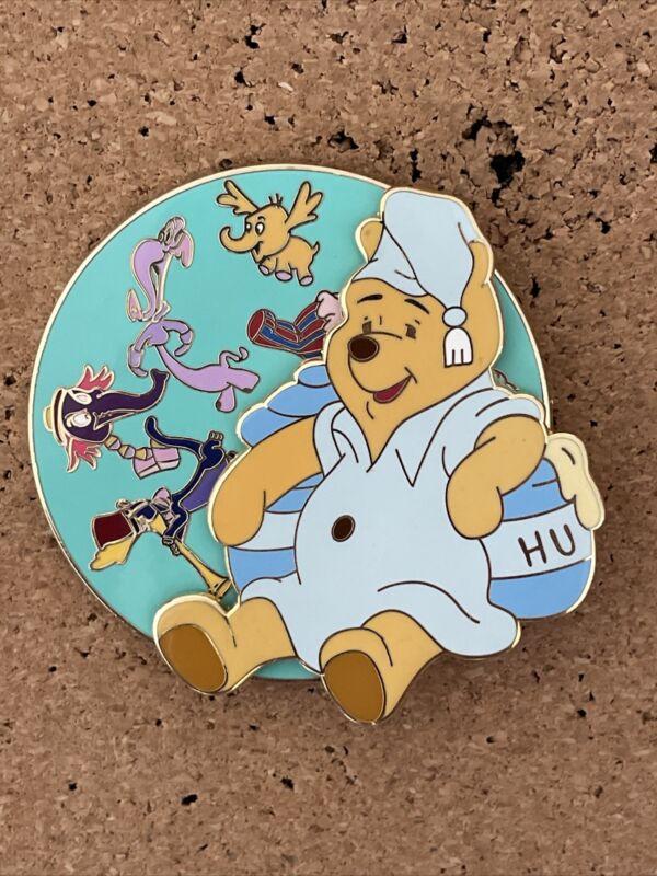 repaired disney shopping pooh bedtime pajama spinner le 250 disney pin