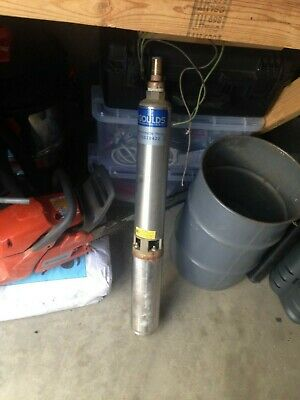 Goulds 7gs10422 7gpm 1hp 230v 2 Wire 4 Stainless Submersible Well Pump