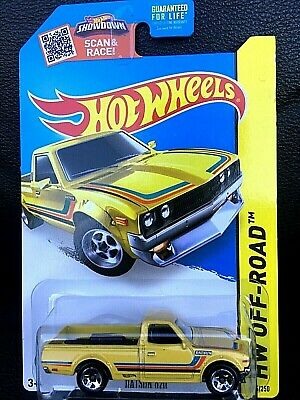 Hot Wheels Datsun 620 Yellow * Kmart Exclusive *