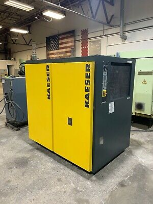 Kaeser Te91 Refrigerated Air Dryer See Video Rotary Screw Compressor