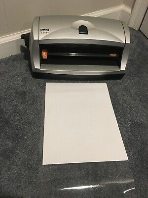 Scotch Heat-free Laminating System Ls960 Blacksilver Works Missing Feed Tray