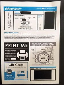 4 - ADELE TICKETS (EACH $400) Berwick Casey Area Preview