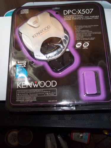 VINTAGE 1999 KENWOOD DPC-X507 CD PLAYER SEALED PACKAGE