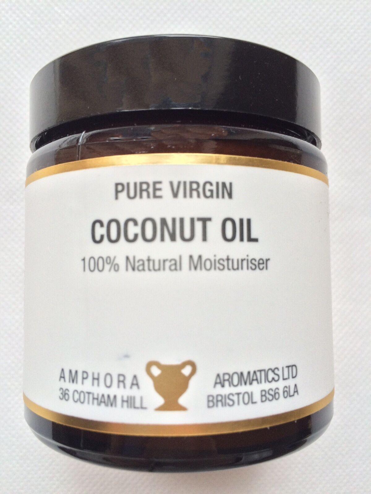 Pure Jungfrau Kokosöl Haar und Haut Feuchtigkeits und Massage after Sun Pflege