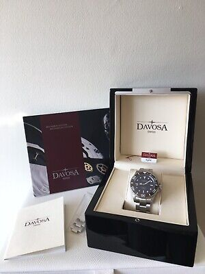 Davosa ternos Men's Watch Diver Automatic Vintage 16155585 Brown Face Model