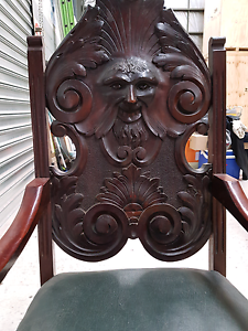Antique timber chair. Braeside Kingston Area Preview