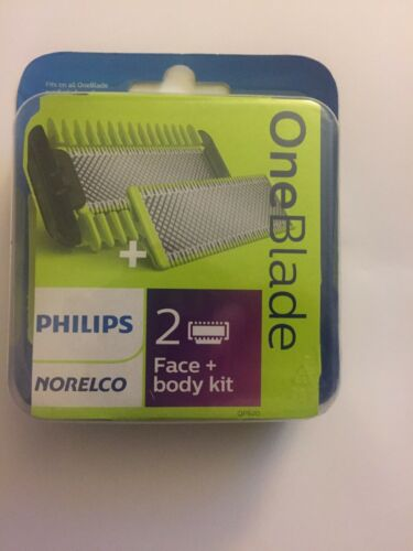 Philips Norelco OneBlade Replacement Blade Face + Body Kit Q