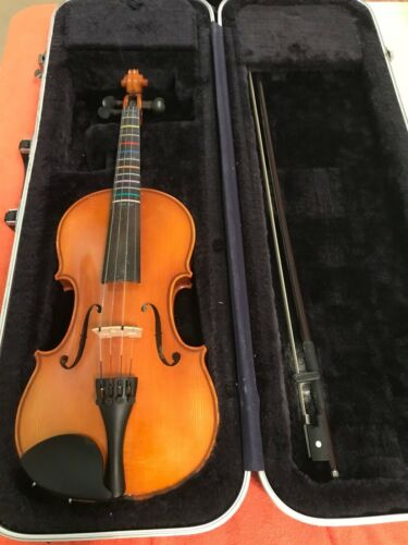 Strobel ML80 2012 4/4 Student Violin w/ Bow and Hard Case. Superior Condition.