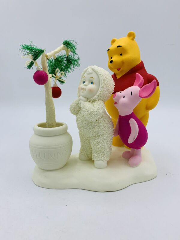 Department 56 Snowbabies Disney The Guest Collection Pooh