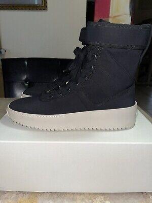 Fear Of God Military Sneaker Black/Nylon 43 Size 10