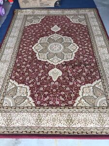 Turkish area rug 8ft x 5ft carpet beautiful Very Clean MUST GO
