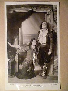 Theatre-Postcard-Fred-Terry-Miriam-Lewes-in-Matt-of-Merrymount