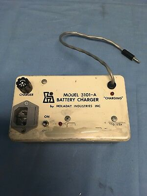 Holaday Model 3101-a Battery Charger For Holaday Hi-30001 Tested