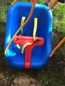 Little Tikes outdoor swing and basketball net