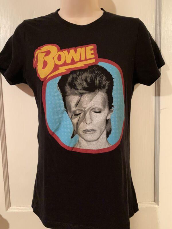 David Bowie Aladdin Sane Women's T-shirt Size S - Bowie Official