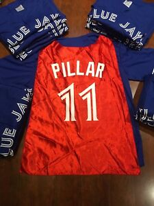 Kevin pillar superman cape jersey jays