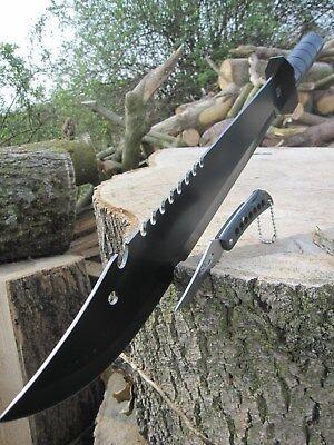 3 in 1 MACHETE Rambo Messer Kompass AXT Buschmesser sehr STABIL Beil Outdoor