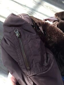 Roots women's down-filled jacket size L-Great condition London Ontario image 4