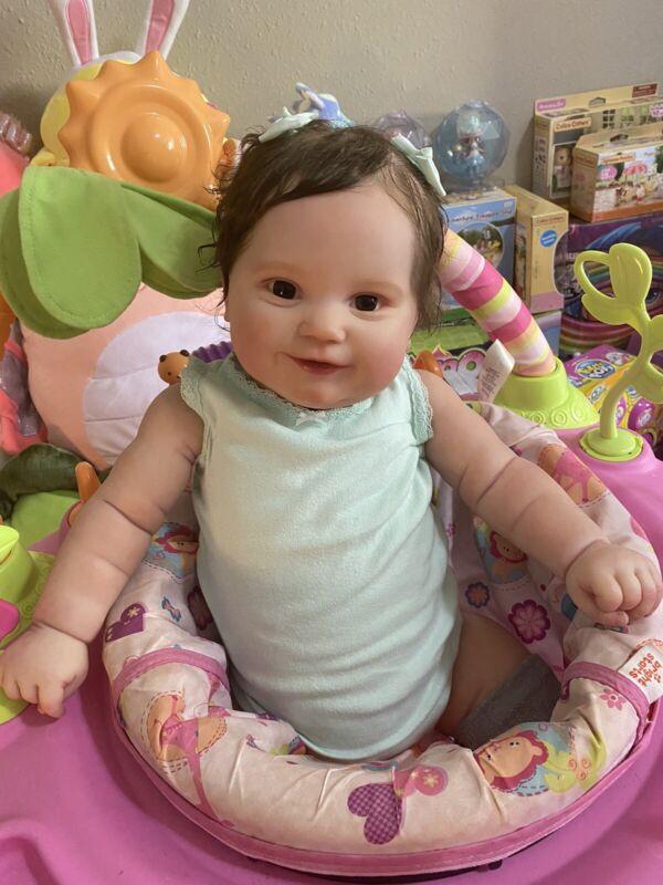 Reborn Maddie Bonnie Brown Reborn Toddler High Quality