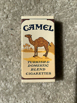 VINTAGE / COLLECTABLE 1940 (1) CAMEL SAMPLE CIGARETTE PACKET FREE SHIPPING